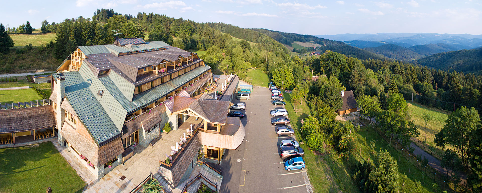 Stylish boutique hotel - Beskydy mountains hotel