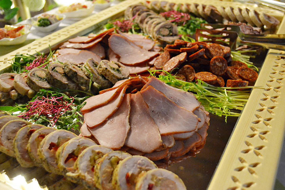 Festive buffet - catering Beskydy mountains